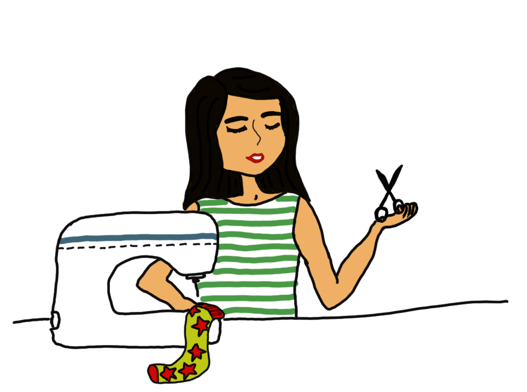 Lulu blanche un blog de couture de petites cr ations et - Dessin de couture ...