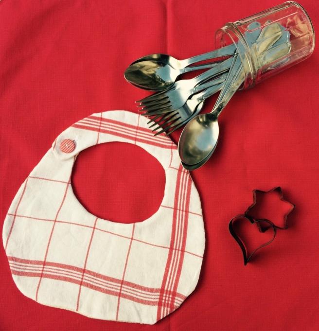 customisation torchon bavoir fait main